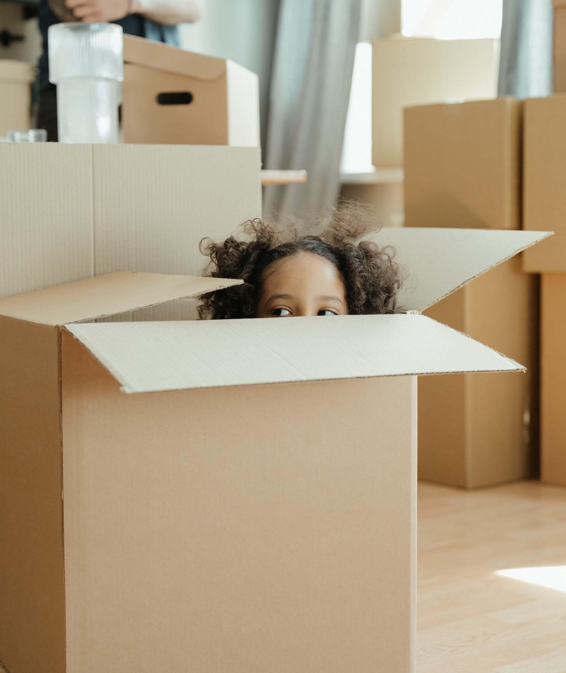 Kid Inside The Box